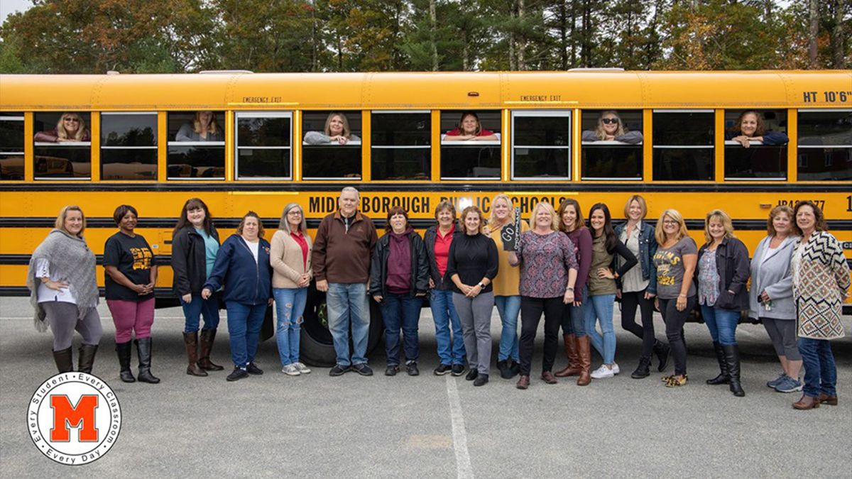 Middleborough school bus drivers ranked best in the nation
