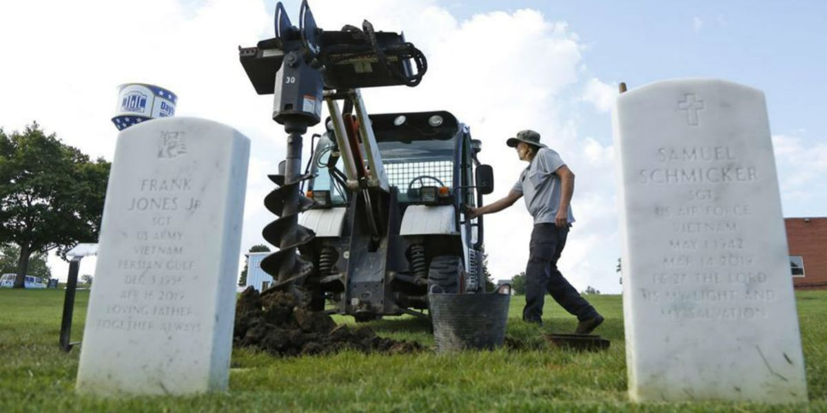 Demand for veteran burials could put strain on national cemeteries