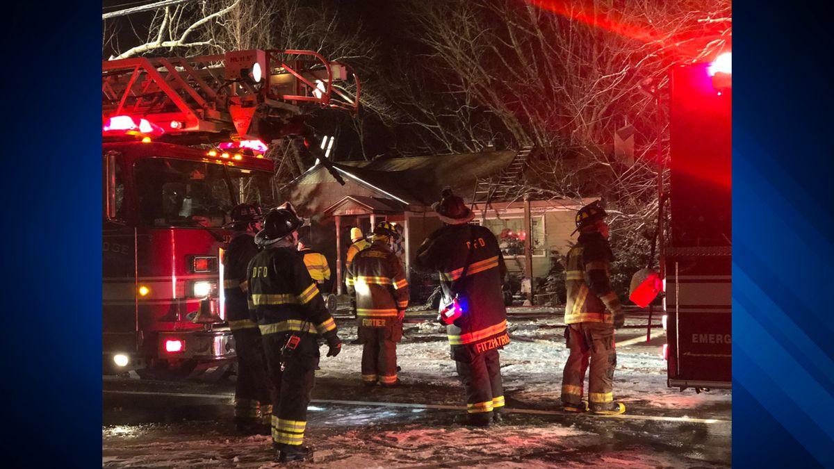 Fire in Uxbridge displaces 8 people, including 4 children
