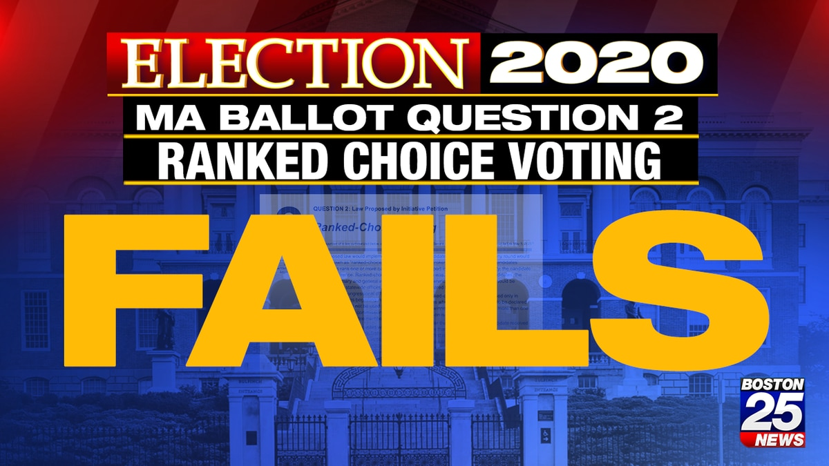 Ranked-choice voting question fails despite wealthy backers