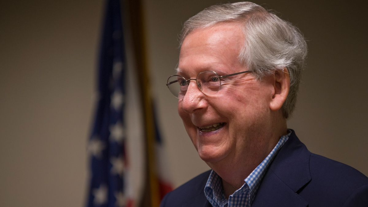 Mitch McConnell's Twitter blasts Barstool Sports: 'watch your mouth, fellas'