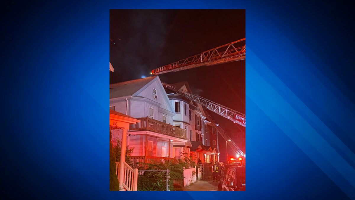 Firefighter battle multi-alarm fire in Dorchester
