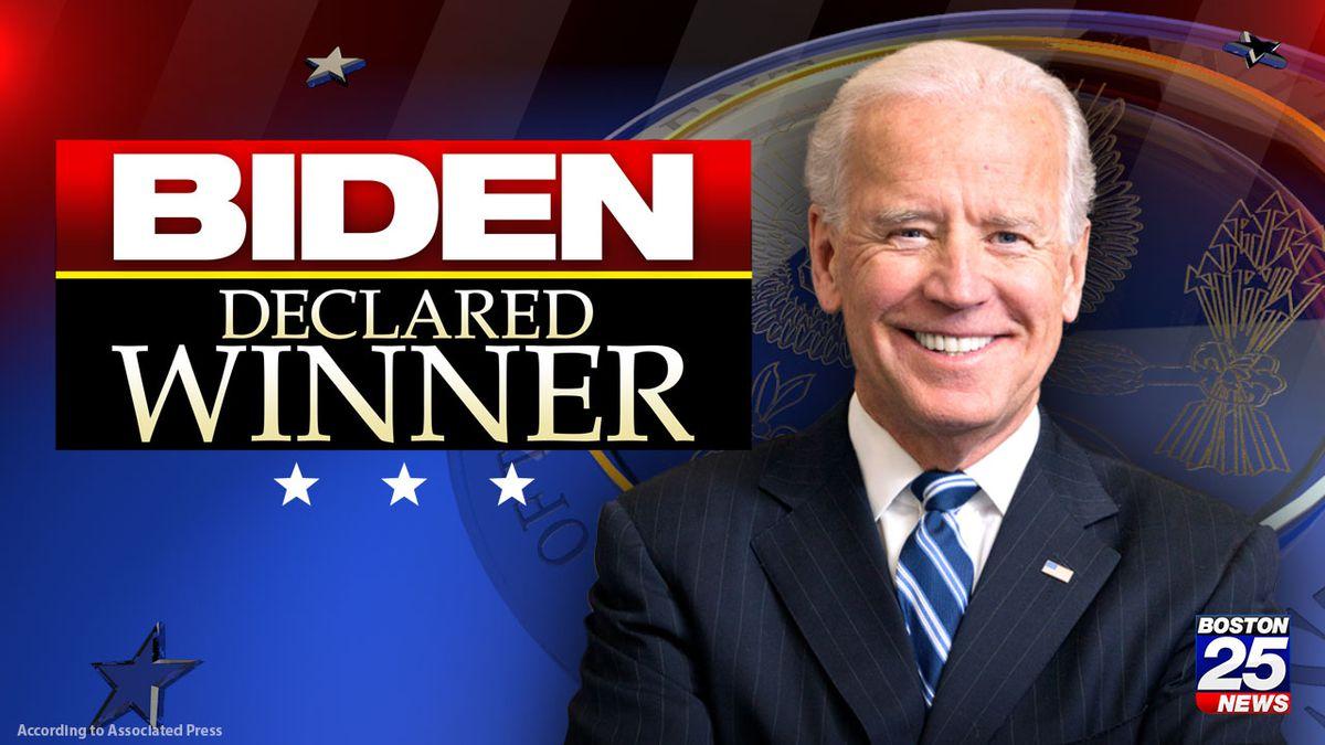AP: Joe Biden declared winner of 2020 presidential election