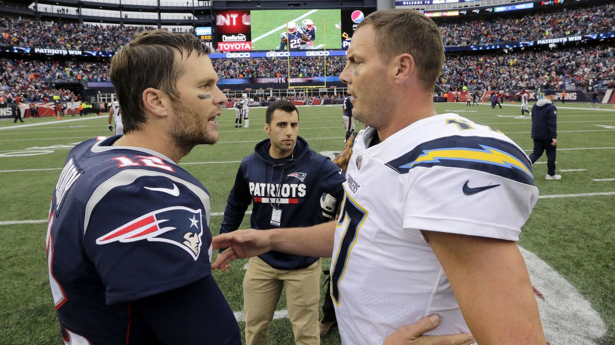 Philip Rivers, Chargers look to end dominance by Tom Brady, Patriots