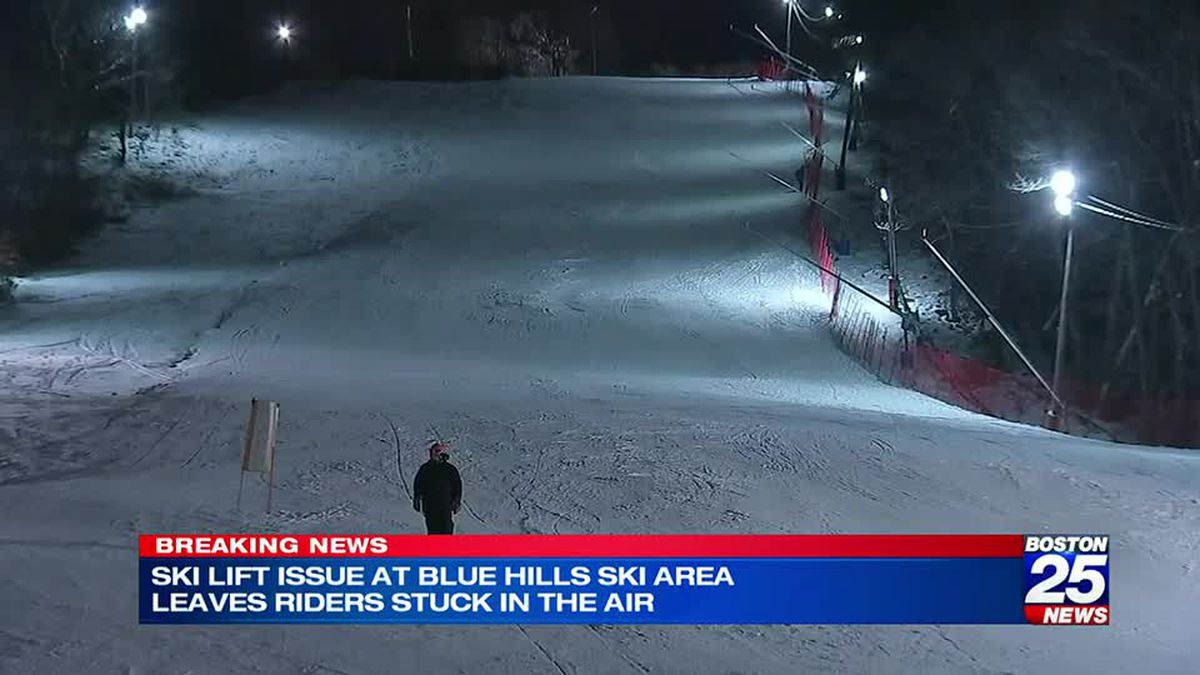 State shuts down Blue Hills ski area after possible malfunction of ski lift