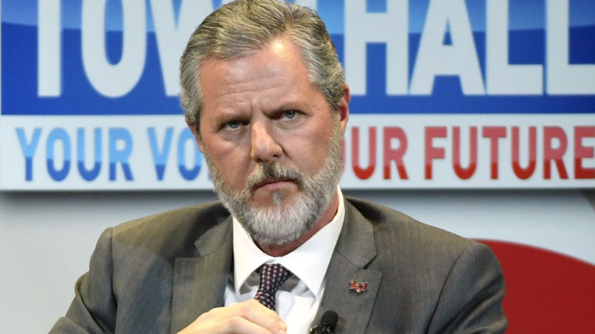 Jerry Falwell Jr. announces leave of absence from Liberty University