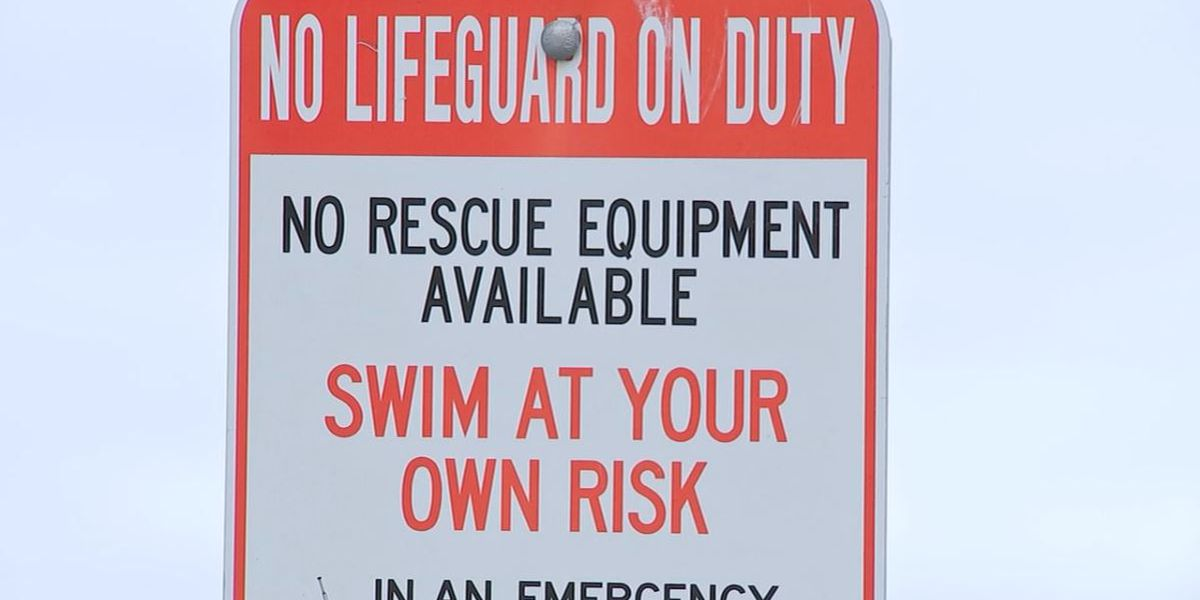 No lifeguards at popular beach despite last year's drowning