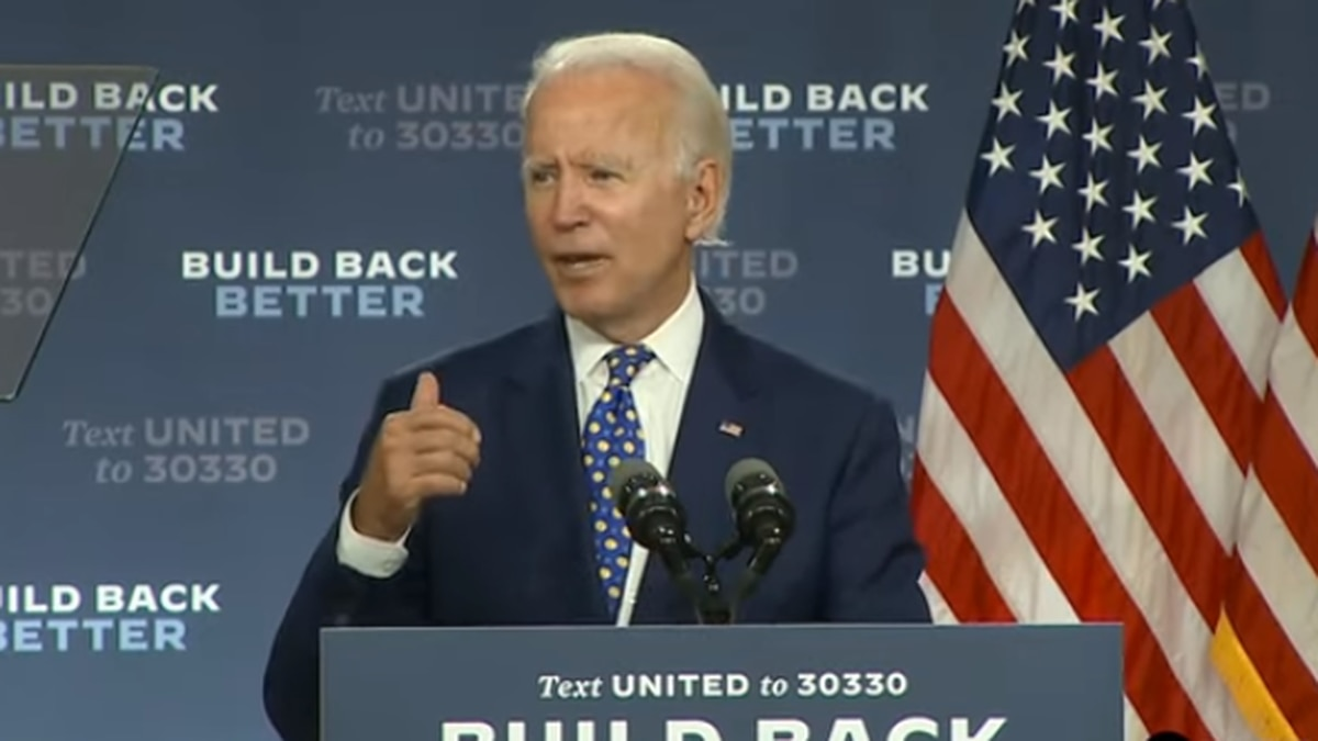 Biden signals VP choice could come next week