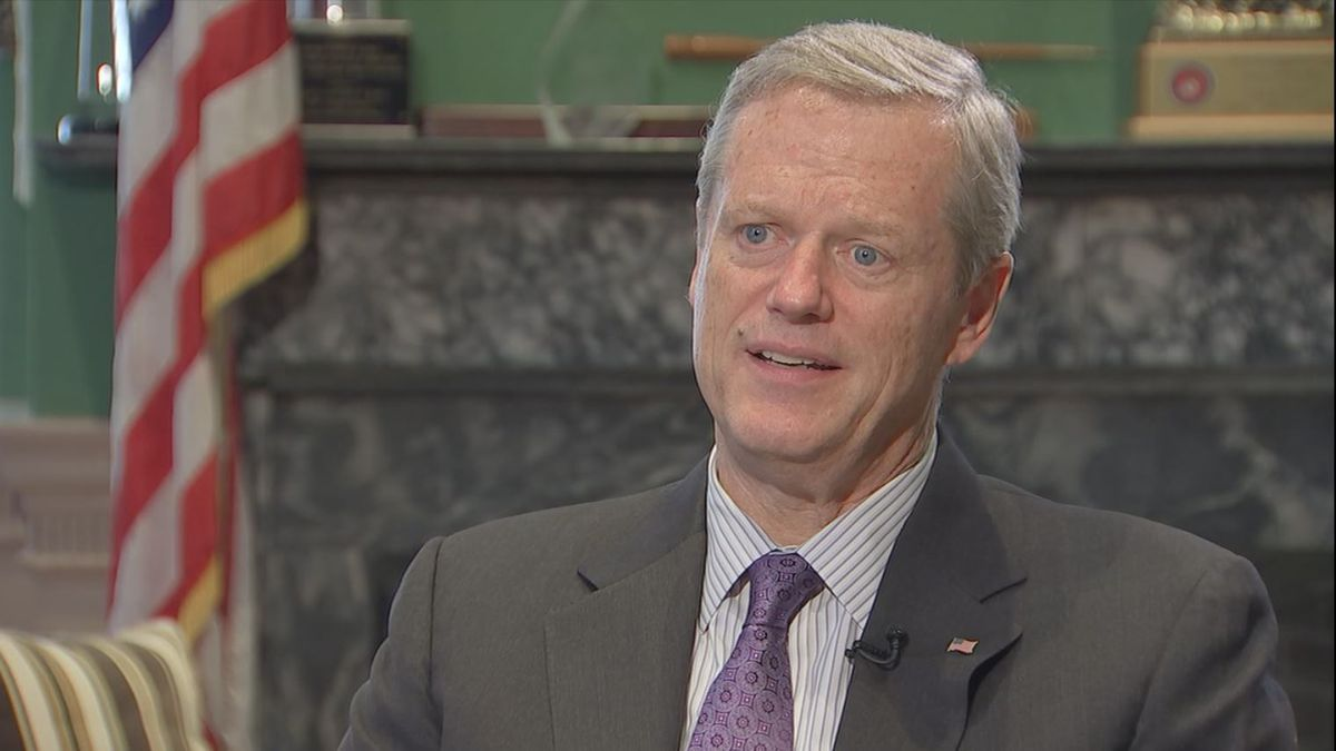 Gov. Baker not supporting President Trump's re-election