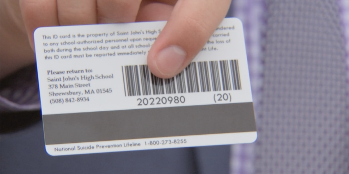Teen leads charge to put suicide hotline on student IDs, could expand statewide